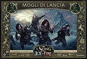 Asmodee Italia-A Song of Ice and Fire Mogli di Lancia - Juego de Mesa con espléndidas miniaturas Edición en Italia, Color 10429