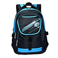 Fancybox Cool Backpack for Kids Bookbag for Boys Elementary School Bags Backpack for Middle or Primary School (Blue)