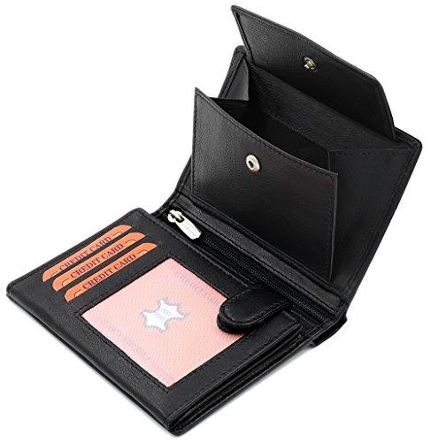 Geldbörse aus echtem Leder von Fa.Volmer Phoenix 3 - 5