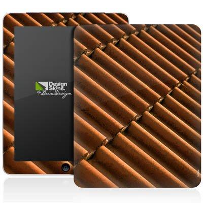 Apple iPad 1 Aufkleber Schutz Folie Design Sticker Skin Dachziegel Ziegel Look Muster