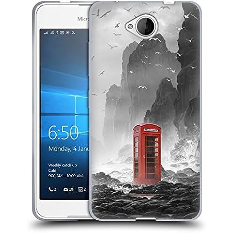 Ufficiale Daniel Conway Cabina telefonica Scene Surreali Cover Morbida In Gel Per Microsoft Lumia 650 / Dual SIM
