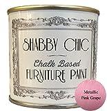 Color rosa yeyé tiza sucrosa muebles pintura ideal para crear un estilo shabby chic. 125 ml