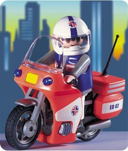 PLAYMOBIL 3924 - Notarzt - Motorrad