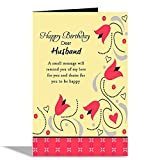 #6: Happy Birthday Dear Husband Greeting Card