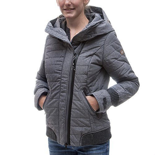 khujo -  Giacca  - cappotto - Donna B11 mid grey melange M