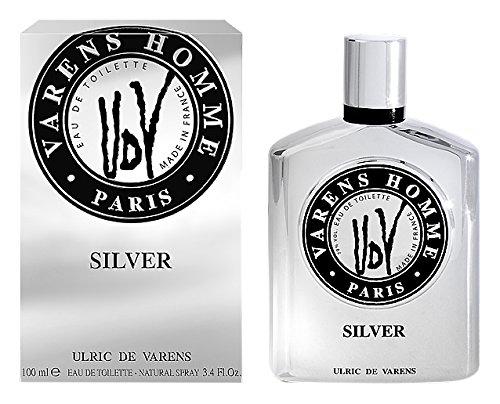 Ulric de Varens Silver Eau de Toilette Homme, 100 ml
