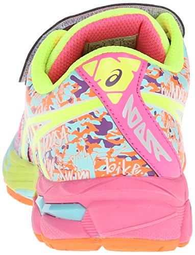 Asics Gel-Noosa Tri 10 PS GR Textile Turnschuhe Hot pink/flash yellow/ice blue