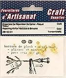 Reparatur-Set für Halskette & Armband Gold Farbe Arts & Crafts