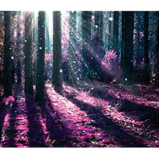 azutura Enchanted Forest Wall Mural Purple Tree Photo Wallpaper Girls Bedroom Home Decor available in 8 Sizes Gigantic Digital