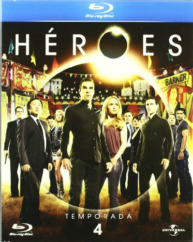 Héroes: Temporada 4 [Blu-ray]