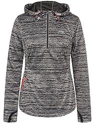 LI Ning Jen Camiseta con capucha para mujer, otoño/invierno, mujer, color negro, tamaño XL