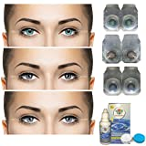 Crystal Eye® Combo Pack of 3 (Turquoise, Brown & Blue) Monthly Color Contact