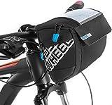 Docooler Multifunctional Cycling Bike Bicycle Handlebar Bag Basket Bag Front Tube Pocket Outdoor Sports Shoulder Pack