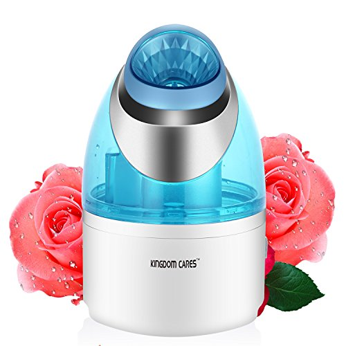 Price comparison product image KINGDOMCARES Cool Mist Steamer Facial Spa For Acne Treatment Face Steamer Professional Facial Mist and Sauna Nano Ionic Hot Mist Facial Steamer Clear Blackheads face cleaner waters therapy Skin Care Sauna Facial Atomizer Hydration Face Mist For Face