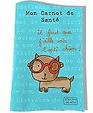 Protège carnet de santé pour chien, Coloris bleu, réf. C2250-2015