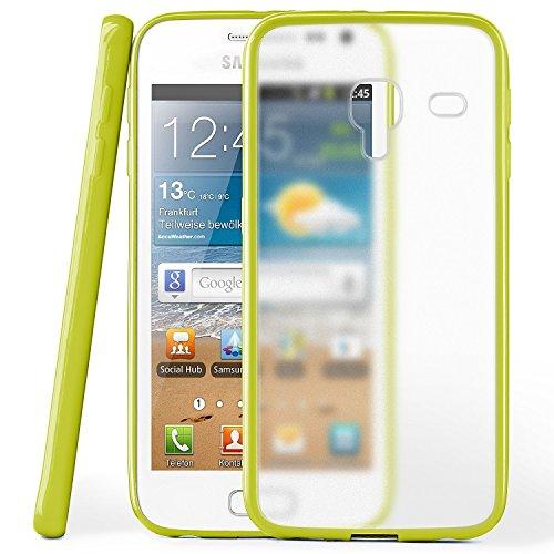 Cover di protezione Samsung Galaxy Ace 2 Custodia Case silicone sottile 1,5mm TPU   Accessori Cover cellulare protezione   Custodia cellulare Paraurti Cover Traslucida Trasparente