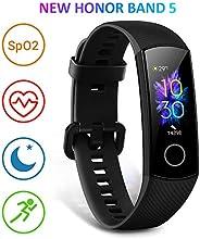 HONOR Band 5 Activity Tracker, Uomo Donna Smartwatch Orologio Fitness Cardiofrequenzimetro da Polso Impermeabi