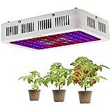 1000W LED Pflanzenlampe Vollspektrum LED Grow Light Pflanzenlicht UR IR Rot&Blau...