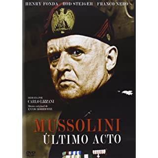 Mussolini Ultimo Acto (Import Dvd) (2014)  Rod Steiger, Franco Nero, Lisa Gast