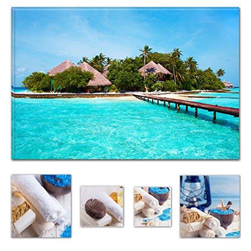 lumiere-eco-bundle-sur-toile-wonderful-island-the-ocean-beach-60-x-90-cm-pour-decoration-interieure-