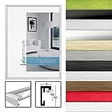 Nielsen Design 859544 Wandrahmen C2, Aluminium, 13 x 18 cm, Silber