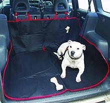 Streetwize Swpc4 Bâche de Coffre pour Animal Domestique pour Voiture à hayon