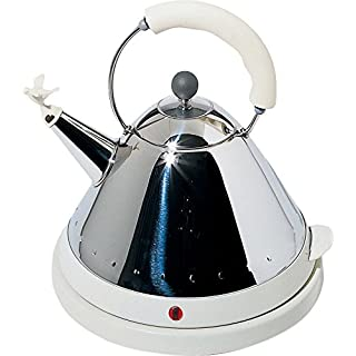 Alessi W/Uk Electric Water Kettle, White