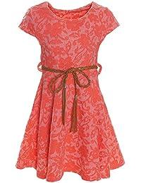 Kinder Mädchen Kleid Peticoatkleid Festkleid Freizeit Sommerkleid Kostüm 21228