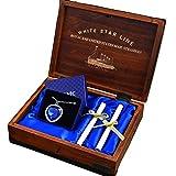Kristall Titanic Herz des Ozeans, Halskette mit Anhänger, Holz Box, Geschenk