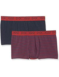 Hom Men's Boxer Shorts Pack Of 2