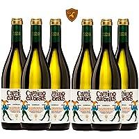 CAMINO DE CABRAS vino blanco Godello Denominación de Origen Valdeorras - pack 6 botellas