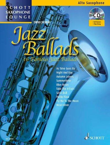 Jazz Ballads Saxophone +CD