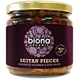 Biona Organic - Seitan Pieces (in Soya Sauce & Ginger) - 350g (Case of 6)