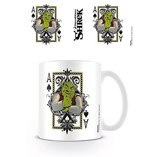 Pyramid intl - Mug Shrek - Carte à Jouer 320ml - 5050574233033 4