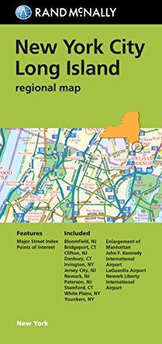 Rand McNally: New York City/Long Island Regional Map