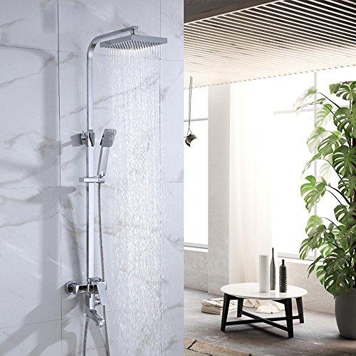 Sursy sprenger, kupfer dusche eingerichtet und anzug