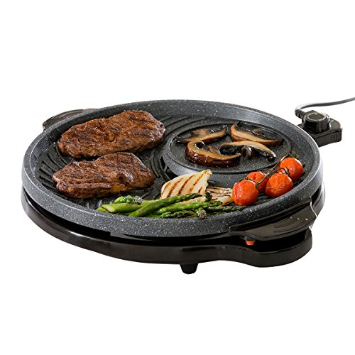 JML Grill Circle: The indoor non-stick grill with dual cooking zones