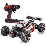 GizmoVine RC Auto 1/18 Ferngesteuertes Auto 4WD RC Car Hochgeschwindigkeit 2.4Ghz Fernbedienung Racing Rennauto Auto Spielzeug Fahrzeug mit Aufladbaren Batterien