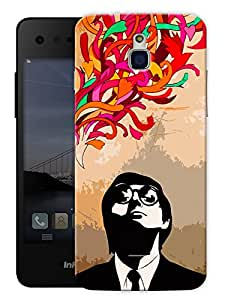 "Humor Gang Subconscious Mind Printed Designer Mobile Back Cover For ""Google Infocus M350"" (3D, Matte Finish, Premium Quality, Protective Snap On Slim Hard Phone Case, Multi Color)"