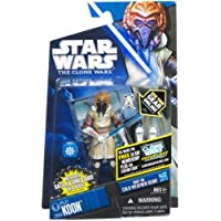 Star Wars Clone Wars Action Figure: CW53 Plo Koon Cold Weather Gear by Hasbro