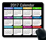 2017 Calendar Anti-Slip Pad Mat Mice Mousepad Desktop Mouse pad Laptop Mouse pad Gaming Mouse pad 250mm*300mm