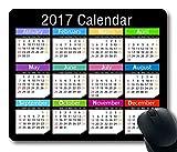 2017 Calendar Anti-Slip Pad Mat Mice Mousepad Desktop Mouse pad Laptop Mouse pad Gaming Mouse pad 250mm*300mm