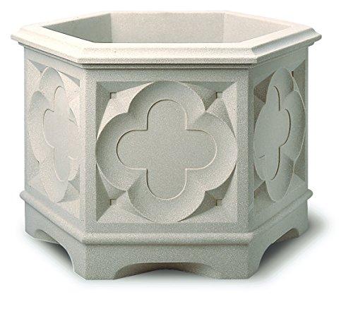 stewart-gothic-hexagonal-planter-39-cm-white-stone