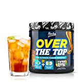 Rocka Nutrition OVER THE TOP Pre Workout Booster Fitness | 2in1 Pump Booster + Fokus Booster - 240 g (Ice Tea Lemon)