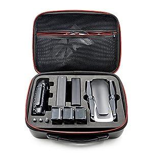 GEZICHTA Coque étanche Portable Sac à Main de Transport PU Valise Sac de Rangement pour DJI Mavic Air Drone Accessoire