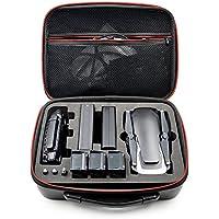 DJI maleta impermeable PU bolsa de almacenamiento portátil bolsa de mano maleta de transporte para DJI Mavic Air Drone accesorio, color Negro