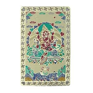 Feng Shui Import Rouge Dzambhala talisman Carte