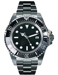 PARNIS PARNIS Modell 2033 0732066353911 - Reloj para hombres, correa de acero inoxidable