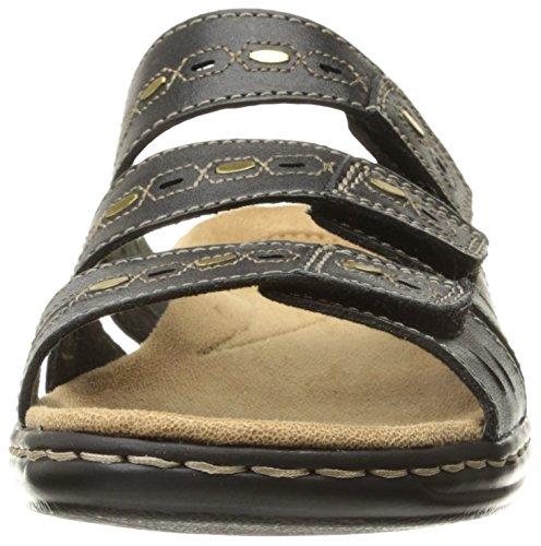Clarks Leisa Broach Dress Sandal Black