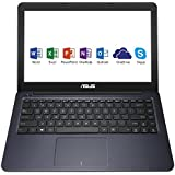 "Asus L402SA-WX223TS PC portable 14"" Bleu (Intel Celeron, 4 Go de RAM, SSD 32 Go, Windows 10) + Office 365 Personnel inclus pendant 1 an"